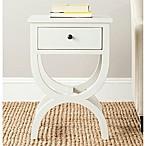 Safavieh Maxine 1-Drawer Night Table in White