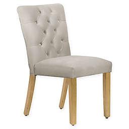 Skyline Furniture Sherwood Dining Chair in Velvet Grey