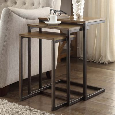 Carolina Cottage Emmitt 3-Piece Nesting Table Set | Bed ...