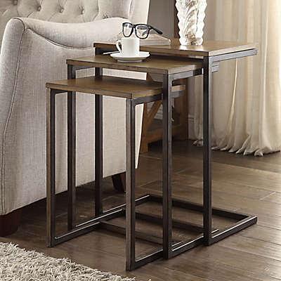 Carolina Cottage Emmitt 3-Piece Nesting Table Set