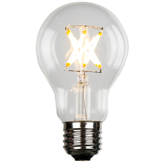 Alternate image 1 for Luminance Vintage Filament A19 5-Watt Equivalent LED Light Bulb