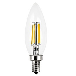 Feit Electric 2-Pack Filament 60-Watt Equivalent A15 LED Light Bulbs