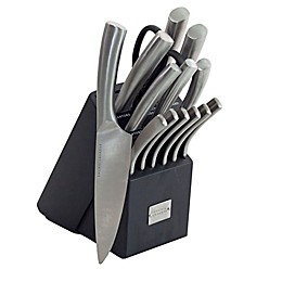Emeril 15-Piece Stainless Steel Curved Knife Block Set