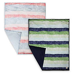 Burt's Bees Baby® Watercolor Stripe Organic Cotton Quilt