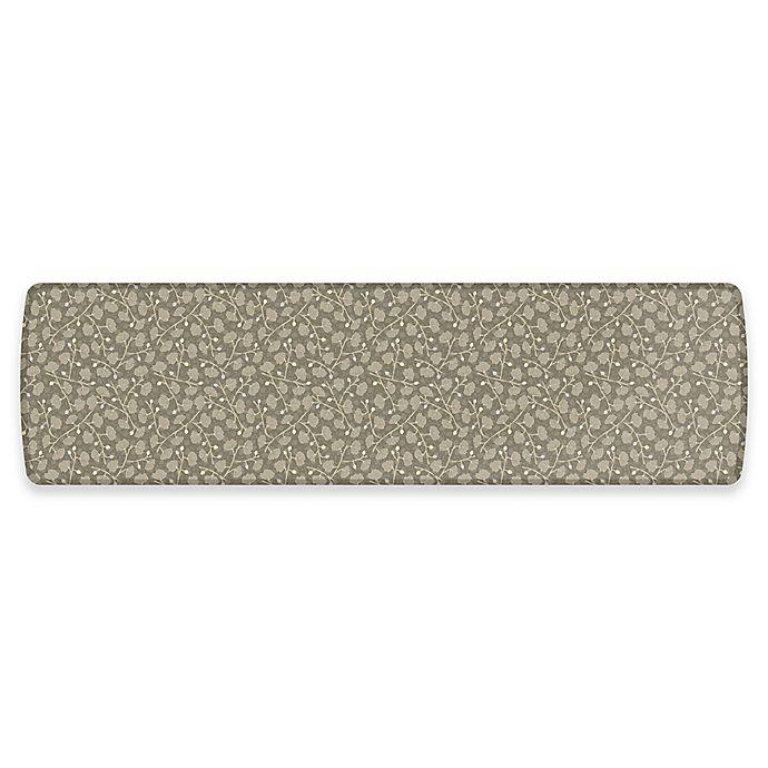 Alternate image 1 for GelPro® Elite Decorator Organic 30-Inch x 108-Inch Kitchen Mat in Mushroom