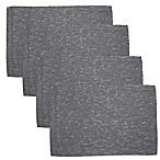 Shimmer Rib Placemats in Platinum (Set of 4)
