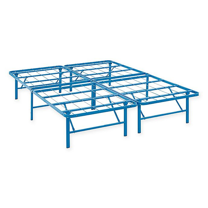 Alternate image 1 for Modway Horizon Stainless Steel Bed Frame