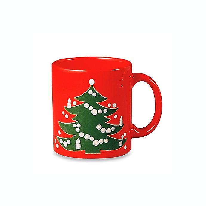 Waechtersbach Christmas Ceramic 12-Ounce Mugs (Set of 4)