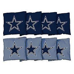 NFL Dallas Cowboys 16 oz. Duck Cloth Cornhole Bean Bags (Set of 8)