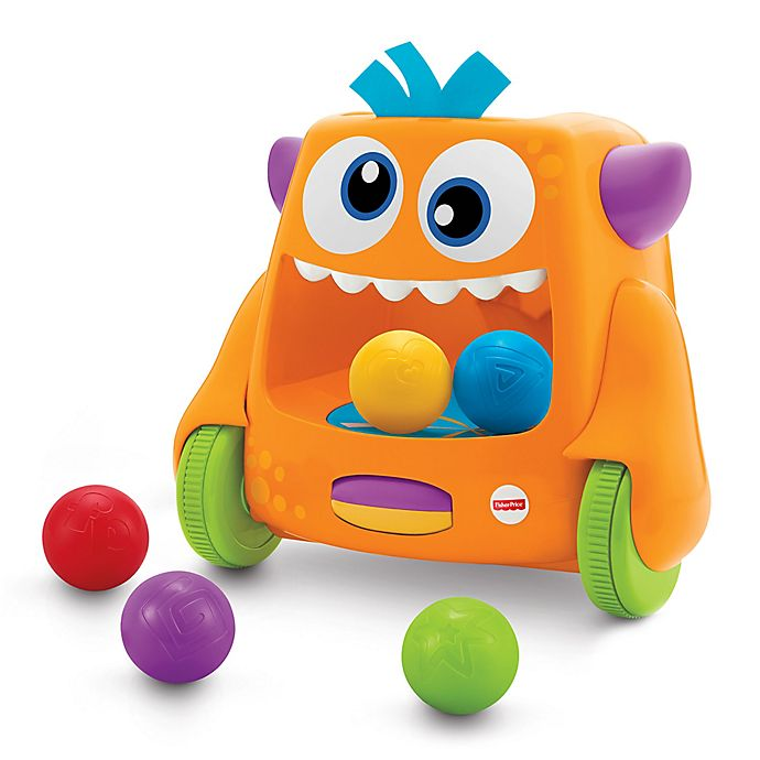 Alternate image 1 for Fisher-Price® Zoom 'n Crawl Monster™
