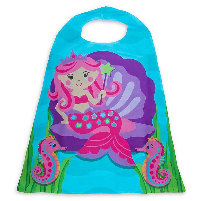Alternate image 1 for Stephen Joseph® Mermaid Cape in Teal