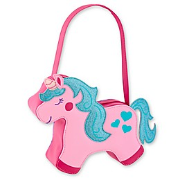 Stephen Joseph® Unicorn Go Go Purse in Pink