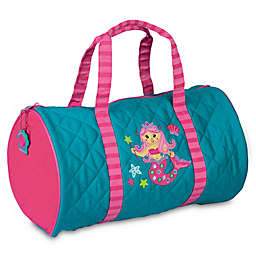 Stephen Joseph® Mermaid Quilted Duffle in Teal
