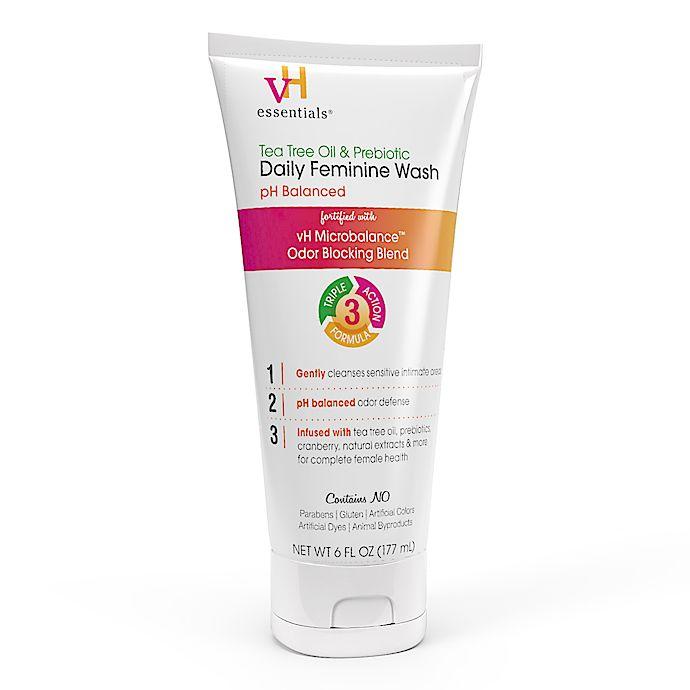 Alternate image 1 for vH Essentials® Tea Tree Oil & Prebiotic Daily Feminine Wash