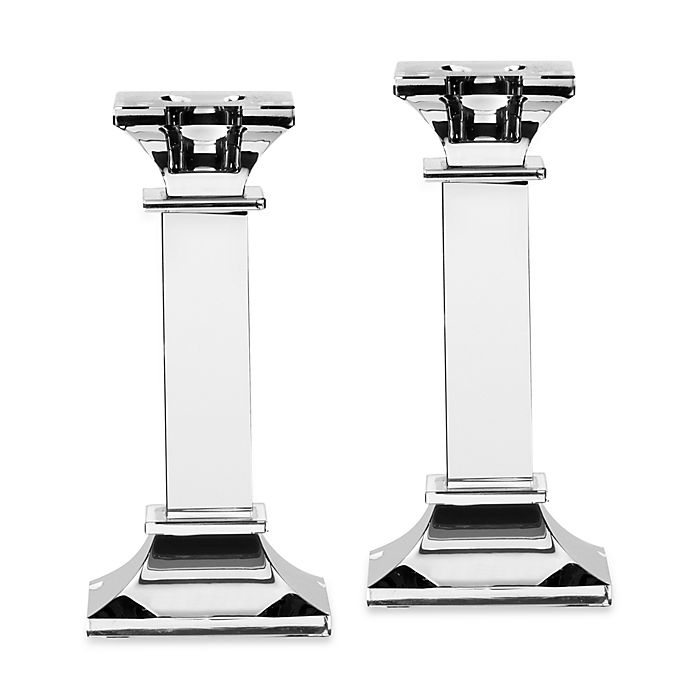 Alternate image 1 for Mikasa® Classic Crystal Candlesticks (Set of 2)