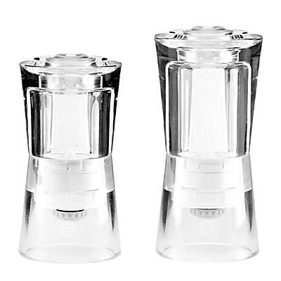 CrushGrind® Barcelona Salt/Pepper Grinder in Clear