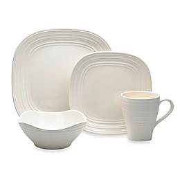 Mikasa® Swirl Square Dinnerware Collection in White