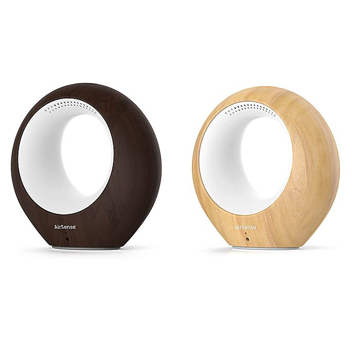 Alternate image 1 for AirSense Air Monitor and Ionic Purifier