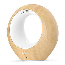 AirSense Air Monitor and Ionic Purifier in Light Wood