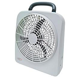 ROADPRO® RP8000 2-Speed Portable Fan in White