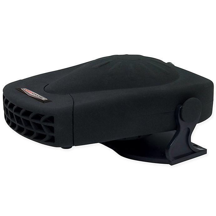Alternate image 1 for RoadPro® 12-Volt All-Season Heater/Fan in Black with Swivel Base