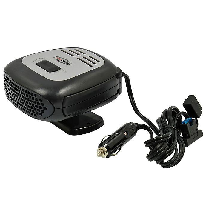 Alternate image 1 for RoadPro® 12-Volt Heater/Fan/Defroster in Black