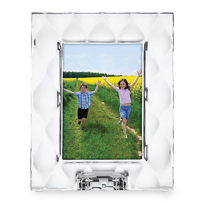 Alternate image 1 for Lenox® Harlequ in 5-Inch x 7-Inch Crystal Frame