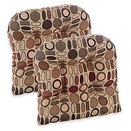 Klear Vu Corona Gripper Chair Pads (Set of 2)