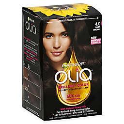 Garnier® Olia® Brilliant Color Permanent Hair Color in 4.0 Dark Brown