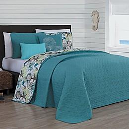 Avondale Manor Surf City Reversible Quilt Set