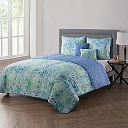 VCNY Home Harmony Reversible Quilt Set