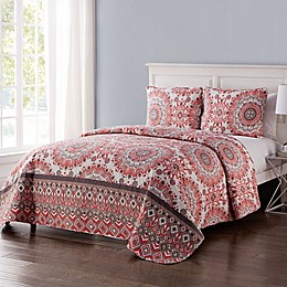 VCNY Home Phoebe Reversible Quilt Set