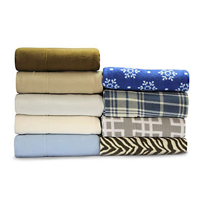Sunbeam® Super Soft Heavyweight Fleece Sheet Set