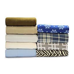 MHF Home Super Soft Heavyweight Fleece Sheet Set
