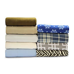 MHF Home Super Soft Heavyweight Fleece Sheet Set