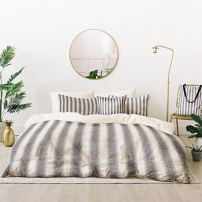 Alternate image 1 for Deny Designs Holli Zollinger French Linen Seaside Stripe 5-Piece Duvet Cover Set