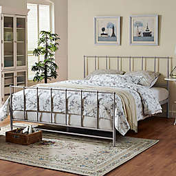 Modway Estate King Bed in Grey