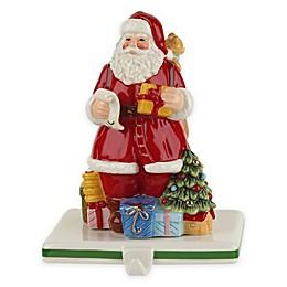 """Spode® Santa 6.5"""" Stocking Hanger"""