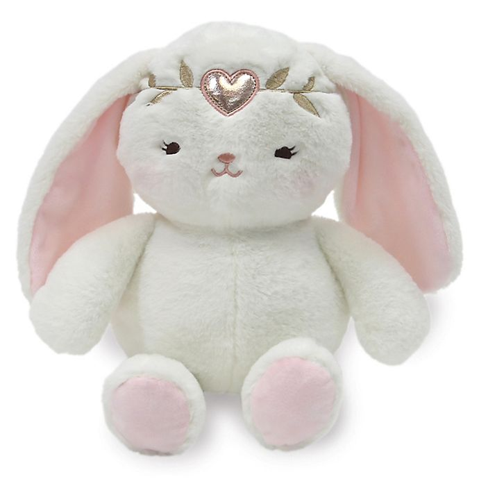 Alternate image 1 for Lambs & Ivy® Confetti Plush Bunny in Pink/Gold