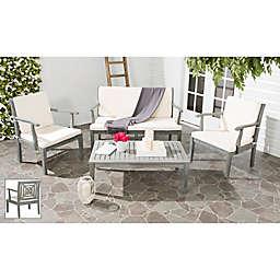 Safavieh Del Mar 4-Piece Outdoor Furniture Set