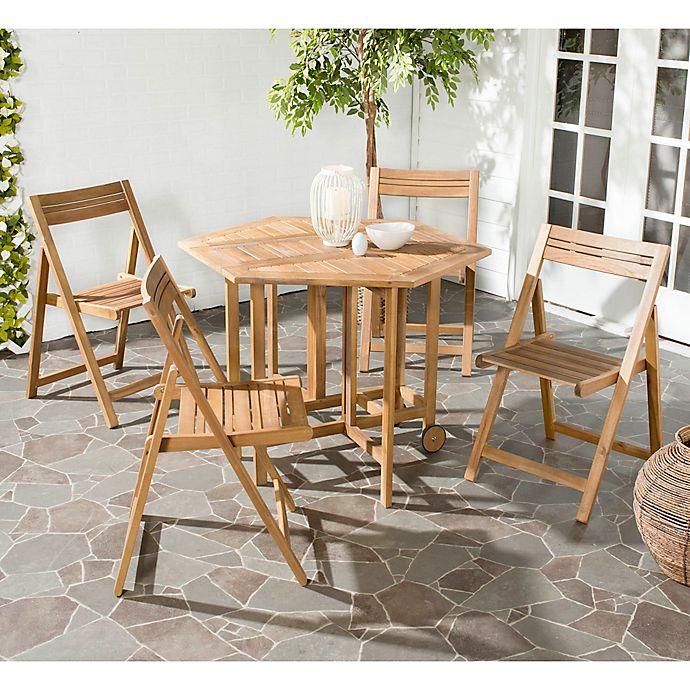 Alternate image 1 for Safavieh Kerman 5-Piece Outdoor Dining Set