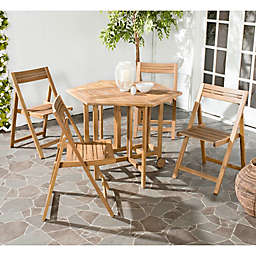 Safavieh Kerman 5-Piece Outdoor Dining Set