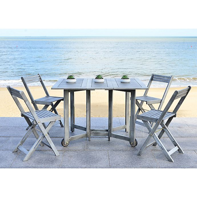 Alternate image 1 for Safavieh Arvin 5-Piece Outdoor Dining Set