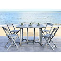 Safavieh Arvin 5-Piece Outdoor Dining Set