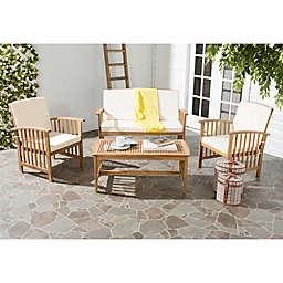Safavieh Rocklin 4-Piece Outdoor Furniture Set
