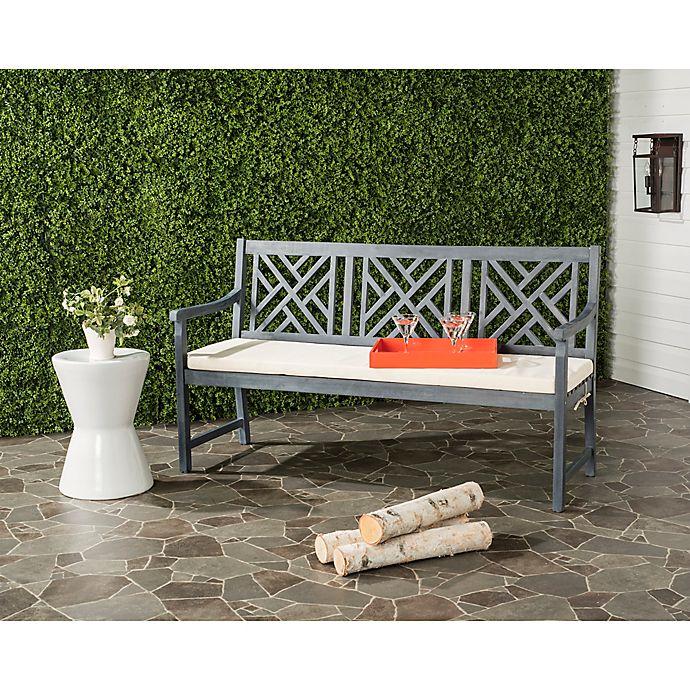 Alternate image 1 for Safavieh Bradbury 3-Seat Outdoor Bench