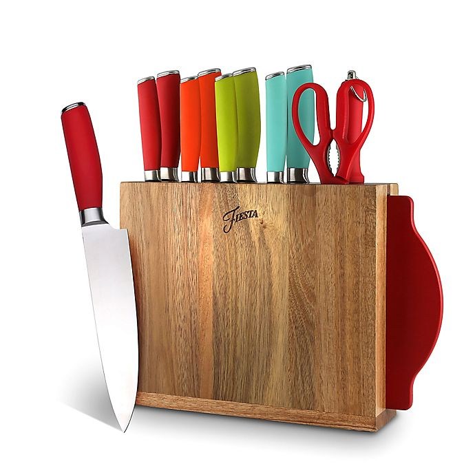 Alternate image 1 for Fiesta® 12-Piece Knife Block Set