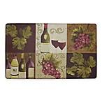 Chef Gear Wellness Wine Gelness 20-Inch x 32-Inch Anti-Fatigue Kitchen Mat in Purple