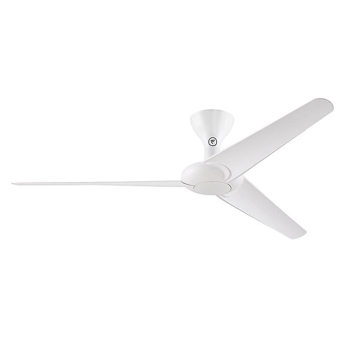Alternate image 1 for Fanimation Drone 60-Inch Indoor/Outdoor Ceiling Fan in Glossy White