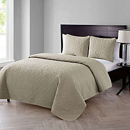VCNY Home Caroline Embossed 3-Piece Quilt Set